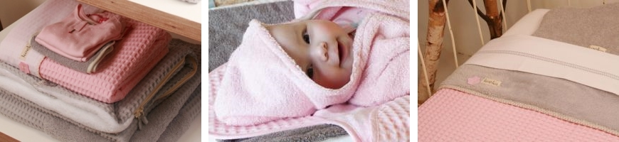 Baby Pink / Silver Grey - Koeka