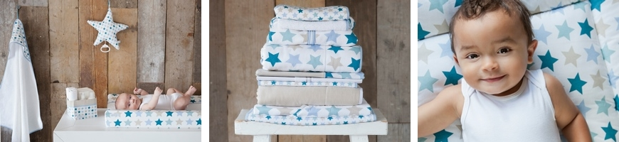 Mixed Stars Mint - Little Dutch
