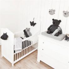 Kabel Antraciet / Lichtgrijs gebreid - Baby`s Only