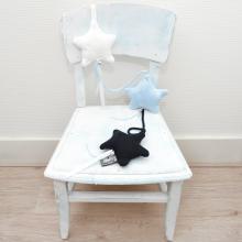 Kabel Marine / Babyblauw gebreid - Baby`s Only