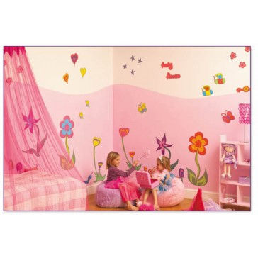 Room make-over kit Funky Flowers - FunToSee