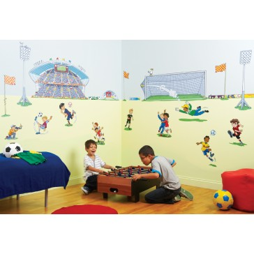 Room make-over kit Football - FunToSee