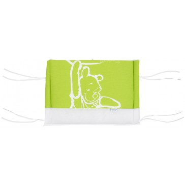 Hoofdbeschermer klein Silly Pooh lime - Anel