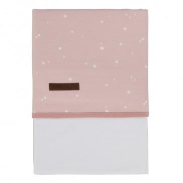 Ledikantlaken Little stars Pink – Little Dutch