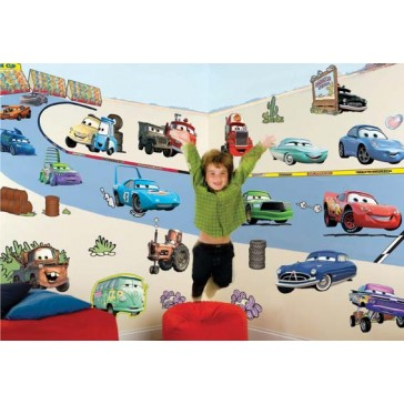 Room make-over kit Disney Cars - FunToSee