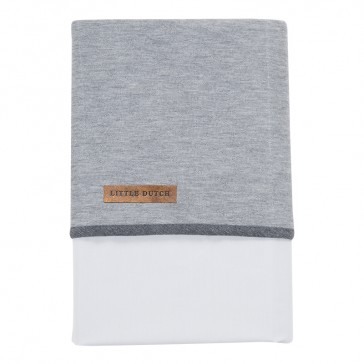 Wieglaken Grey Melange - Little Dutch