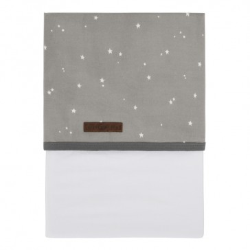 Wieglaken Little stars grey – Little Dutch