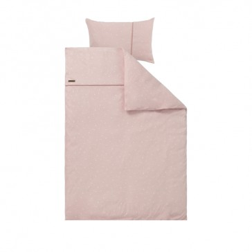 Dekenhoes ledikant Little Stars Pink - Little Dutch