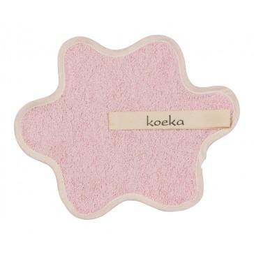Speendoekje badstof Rome Baby Pink - Koeka