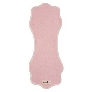 Badstof spuugdoek Rome Baby Pink - Koeka