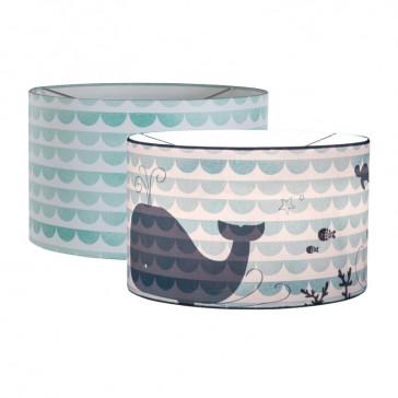 Hanglamp Silhouette Mint Waves Walvis – Little Dutch