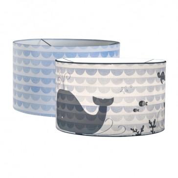 Hanglamp Silhouette Blue Waves Walvis – Little Dutch
