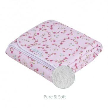 Ledikantdeken Pure&Soft Pink Blossom - Little Dutch