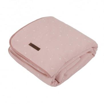 Ledikantdeken Pure&Soft Little Stars Pink - Little Dutch
