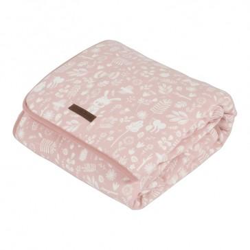 Wiegdeken Pure&Soft Adventure Pink - Little Dutch