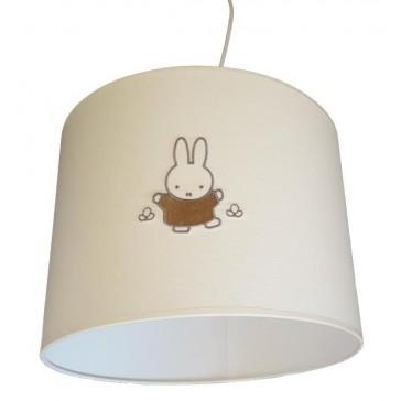 Hanglamp Nijntje ivoor / taupe - Anel