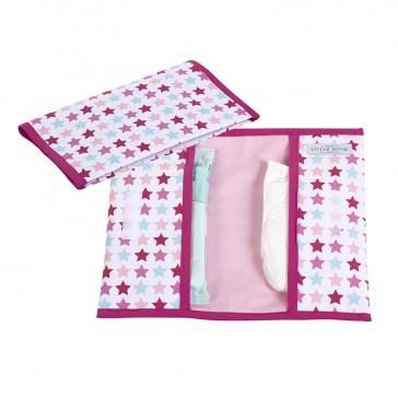 Luieretui Mixed Stars Pink - Little Dutch