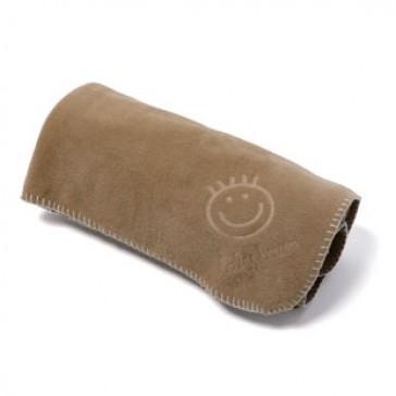 Ledikantdeken fleece Cacao - BabyBoum
