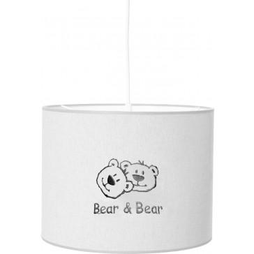 Hanglamp Bear en Bear grijs borduur - Anel