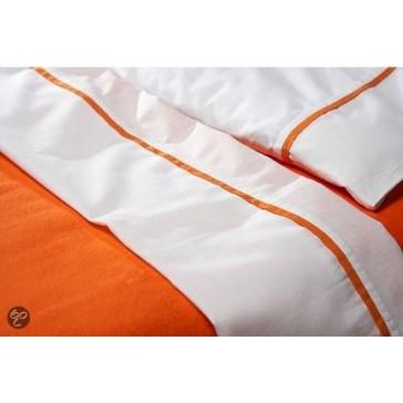 Wieglaken oranje biesje met sloopje - Jollein