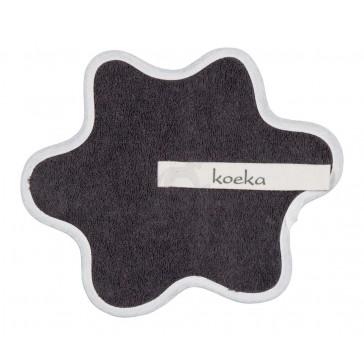 Speendoekje badstof Rome Dark Grey - Koeka
