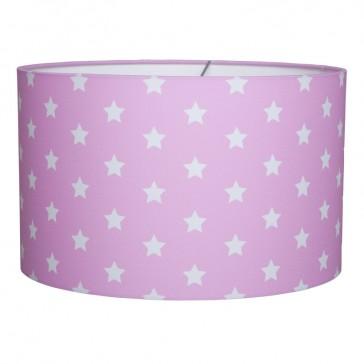 Hanglamp Rond Roze met witte ster - Little Dutch