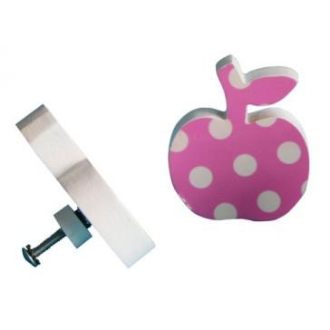 Deurknop Appel roze - Pakhuis Oost