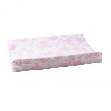Aankleedkussenhoes Toile de joey Roze vlinder - Cottonbaby