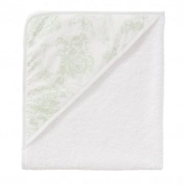 Badcape Toile de joey Mint vlinder - Cottonbaby