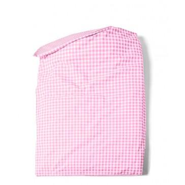 Dekenhoes Combiruit Roze voor ledikant - Cottonbaby