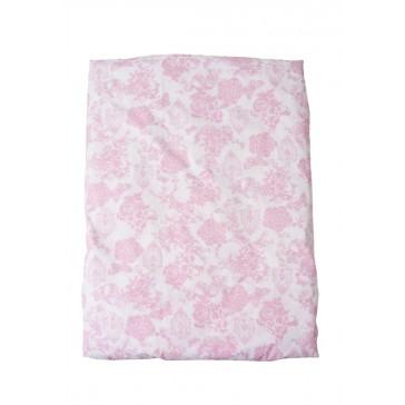 Dekenhoes Toile de joey Roze vlinder voor ledikant - Cottonbaby
