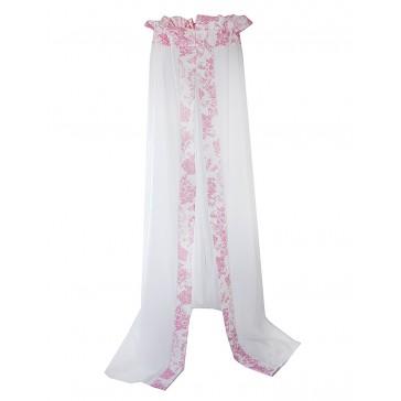 Hemel Toile de joey Roze vlinder - Cottonbaby