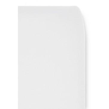 Hoeslaken Uni Wit voor wiegmatras - Cottonbaby