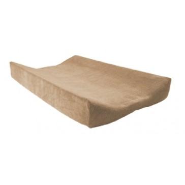 Aankleedkussenhoes badstof zand - Jollein