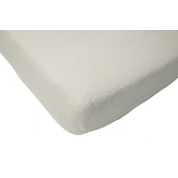 Hoeslaken wieg badstof ecru 40 x 80 cm - Jollein