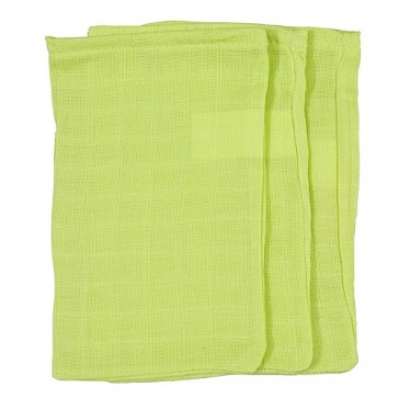 3 Hydrofiele washandjes lime - Jollein