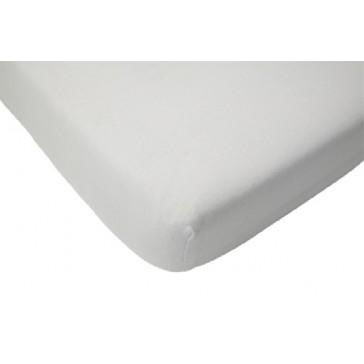 Hoeslaken wieg katoen wit 40 x 80 cm - Jollein