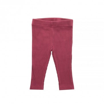 Legging Rib Maroon Red - Jollein