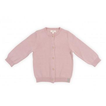 Vestje Pretty Knit Blush Pink - Jollein