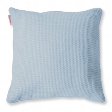 Sierkussen Wafel Lichtblauw - Cottonbaby