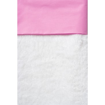 Ledikantlaken Uni Roze  - Cottonbaby