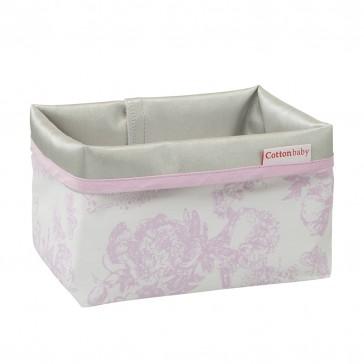 Commodemandje Toile Roze vlinder - Cottonbaby