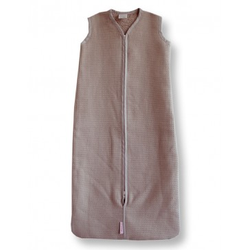 Slaapzak Wafel Bruin 80 cm - Cottonbaby