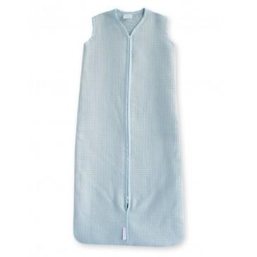 Slaapzak Wafel Lichtblauw 110 cm - Cottonbaby