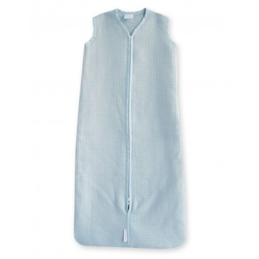 Slaapzak Wafel Lichtblauw 80 cm - Cottonbaby