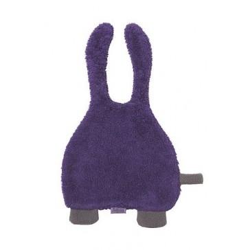 Speendoekje badstof Bunny paars - Jollein