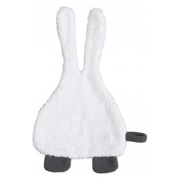 Speendoekje badstof Bunny wit - Jollein