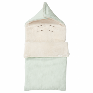 Voetenzak Stockholm Teddy - Misty Mint / Pebble - Koeka
