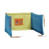 Hoofdbeschermer Kids turquoise / lime - Jollein