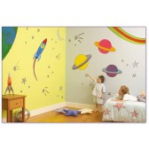 Room make-over kit Outer Space - FunToSee